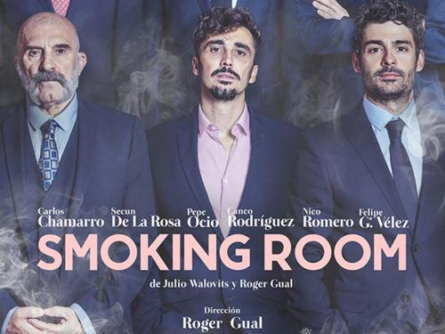 "¡Sorteamos entradas ""Smoking room"""